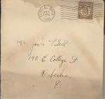 Jack P. Bell World War Two Correspondence #102