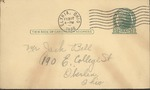 Jack P. Bell World War Two Correspondence #103