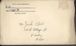 Jack P. Bell World War Two Correspondence #105