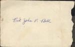 Jack P. Bell World War Two Correspondence #112
