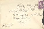 Jack P. Bell World War Two Correspondence #115