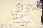 Jack P. Bell World War Two Correspondence #117