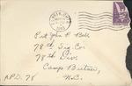 Jack P. Bell World War Two Correspondence #117