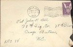 Jack P. Bell World War Two Correspondence #118