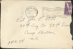 Jack P. Bell World War Two Correspondence #119