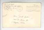 Jack P. Bell World War Two Correspondence #121