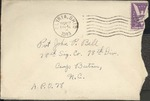 Jack P. Bell World War Two Correspondence #122
