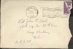 Jack P. Bell World War Two Correspondence #122
