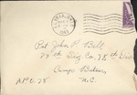 Jack P. Bell World War Two Correspondence #123