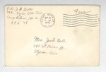 Jack P. Bell World War Two Correspondence #124