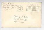 Jack P. Bell World War Two Correspondence #124