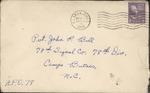 Jack P. Bell World War Two Correspondence #125