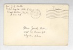 Jack P. Bell World War Two Correspondence #126
