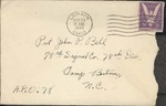 Jack P. Bell World War Two Correspondence #127