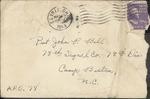 Jack P. Bell World War Two Correspondence #129