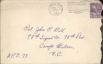 Jack P. Bell World War Two Correspondence #132