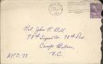 Jack P. Bell World War Two Correspondence #132