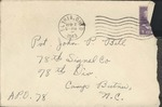 Jack P. Bell World War Two Correspondence #133
