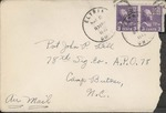 Jack P. Bell World War Two Correspondence #137