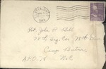 Jack P. Bell World War Two Correspondence #138