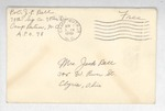 Jack P. Bell World War Two Correspondence #139