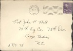 Jack P. Bell World War Two Correspondence #140