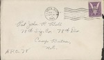 Jack P. Bell World War Two Correspondence #144