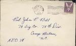 Jack P. Bell World War Two Correspondence #145