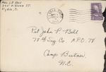 Jack P. Bell World War Two Correspondence #146