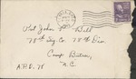 Jack P. Bell World War Two Correspondence #147