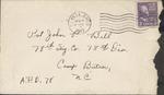 Jack P. Bell World War Two Correspondence #147