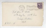 Jack P. Bell World War Two Correspondence #148