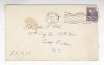 Jack P. Bell World War Two Correspondence #151