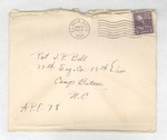 Jack P. Bell World War Two Correspondence #157