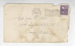 Jack P. Bell World War Two Correspondence #160