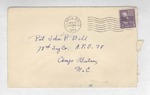 Jack P. Bell World War Two Correspondence #164
