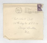 Jack P. Bell World War Two Correspondence #166