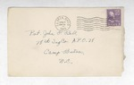 Jack P. Bell World War Two Correspondence #167