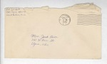 Jack P. Bell World War Two Correspondence #168