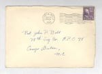 Jack P. Bell World War Two Correspondence #171