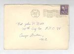 Jack P. Bell World War Two Correspondence #171