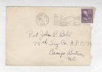 Jack P. Bell World War Two Correspondence #172