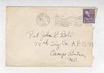 Jack P. Bell World War Two Correspondence #172