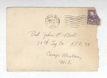 Jack P. Bell World War Two Correspondence #174
