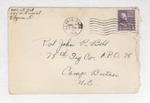 Jack P. Bell World War Two Correspondence #176