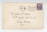 Jack P. Bell World War Two Correspondence #181