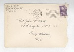 Jack P. Bell World War Two Correspondence #182