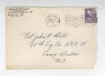 Jack P. Bell World War Two Correspondence #185