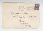 Jack P. Bell World War Two Correspondence #186
