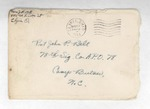 Jack P. Bell World War Two Correspondence #188